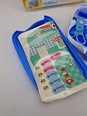 Ігровий набір Доктор (Синій) Валіза на колесах, фото 2