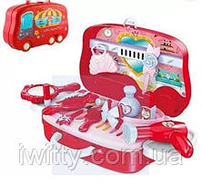 Набор для макияжа детский с выдвижным чемоданчиком, фото 3