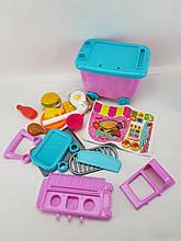 Детский игровой набор HAPPY CHEF (закусочная с тележкой)