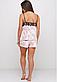 Женская велюровая пижама с кружевом, фото 2