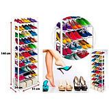 Полка для обуви на 30 пар Amazing Shoe Rack, фото 3