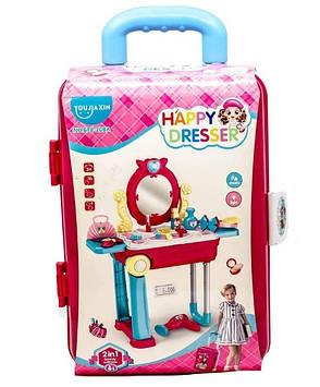 "Ігровий набір Happy Dresser ""Юна красуня"" (у валізу на коліщатках)"