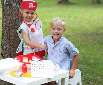 Дитячий ігровий набір Доктор (Рожевий)