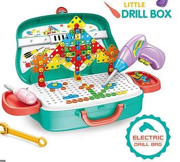 Дитячий валізку Ремонт Creative Little Drill Box
