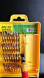 Набор отверток инструментов 32 в 1, для ремонта телефонов и электроники, фото 6