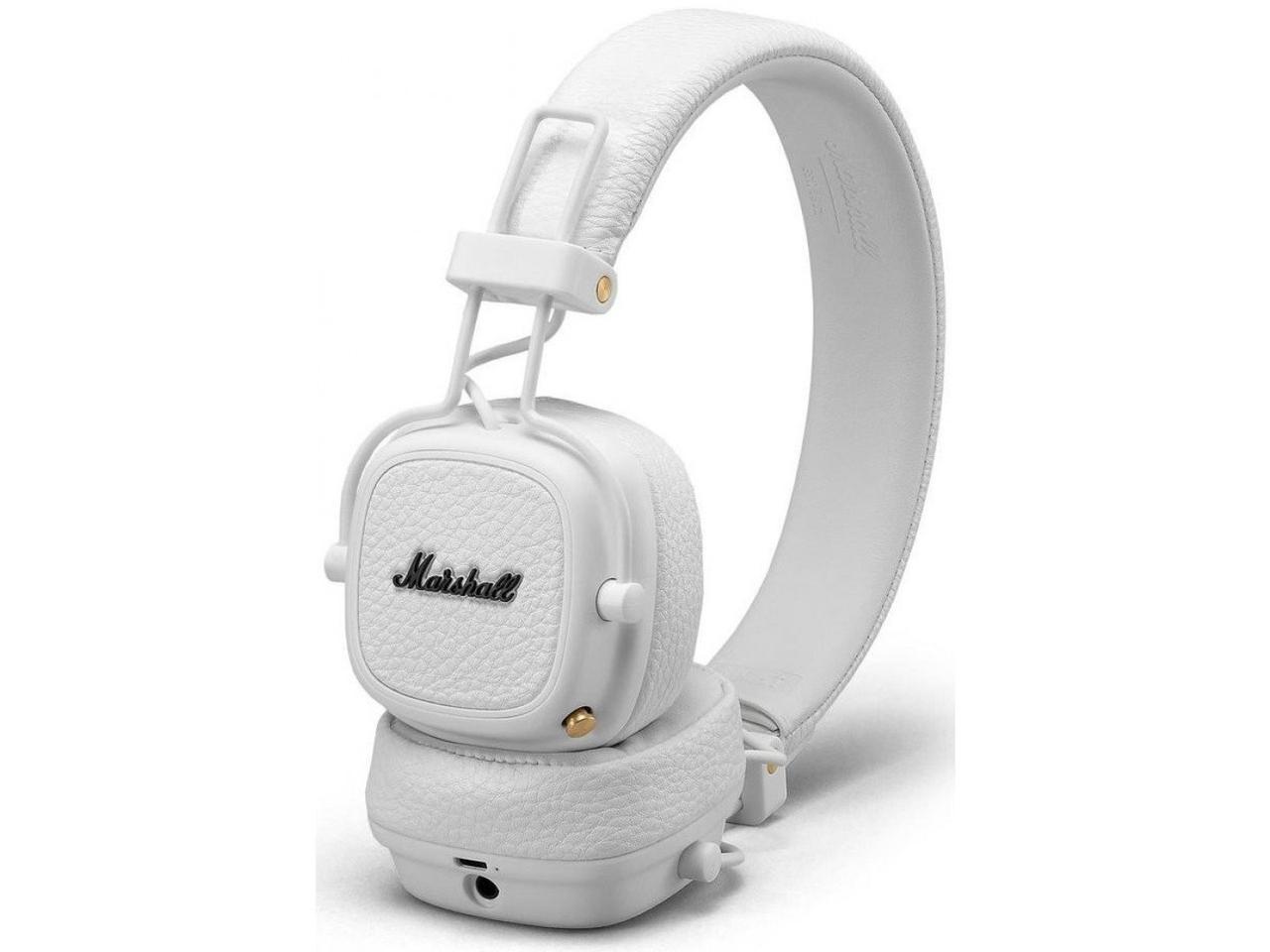 Наушники с микрофоном Marshall Major III Bluetooth White