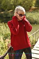 Женский вязанный свитер Oversize