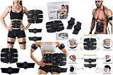 Тренажер для пресса, миостимулятор, EMS Trainer PRO 3в1 с бабочками на мышцы рук, фото 2