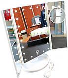 Зеркало с LED Подсветкой Superstar Magnifying Mirror 4в1, фото 2