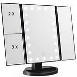 Зеркало с LED Подсветкой Superstar Magnifying Mirror 4в1, фото 4