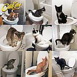 Туалет для кота Citi Kitty. Для приучения кошки к унитазу., фото 3