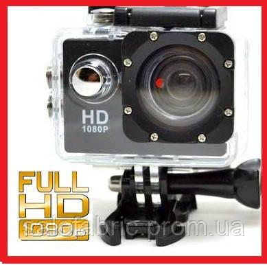 Экшн камера A7 Sport Аквабокс,Крепление на руль,шлем,защита gopro