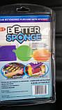 Набор универсальных силиконовых щеток- губок Better Sponge, фото 5