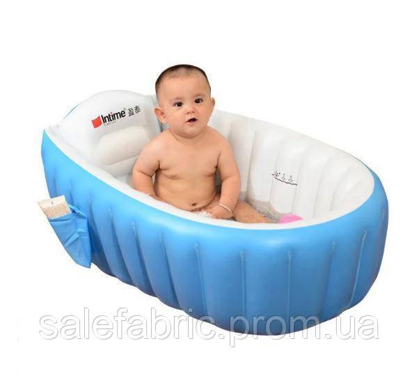 НАДУВНАЯ ВАННОЧКА INTIME BABY BATH TUB С НАСОСОМ