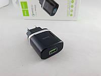 Сетевое зарядное устройство Hoco С12Q Smart QC3.0 1USB 18W (Адаптеры)