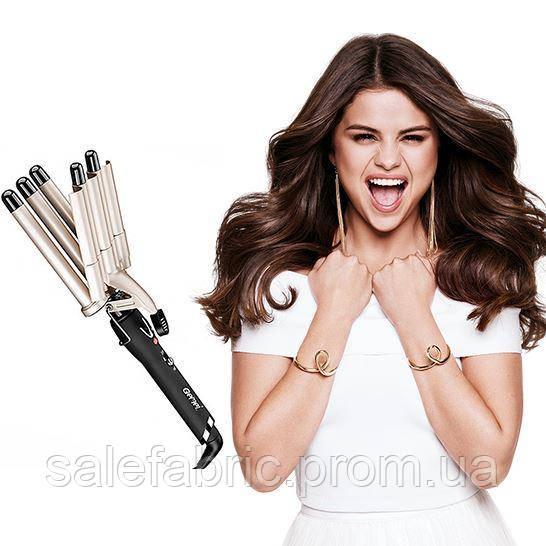 Плойка для волос 5 Волн Gemei