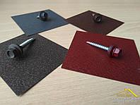 Саморезы матовые для матового профнастила, купить матовые саморезы по металлу и по дереву