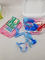 Дитячий ігровий набір Доктор (Рожевий), фото 1