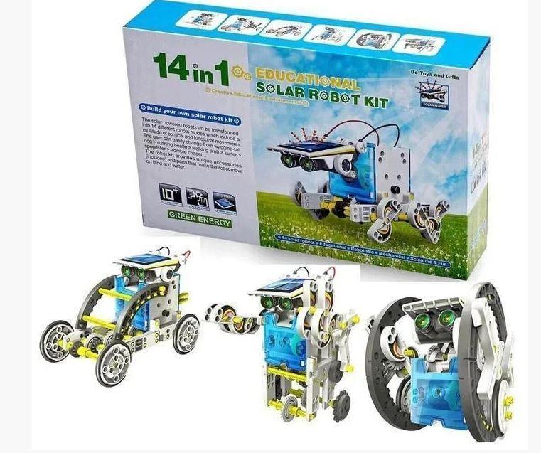 Конструктор Solar Robot робот 14 в 1