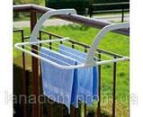 Сушилка для белья навесная Fold Clothes Shelf на батарею, фото 2