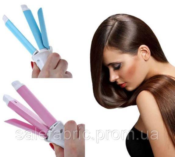 Мини плойка – утюжок для волос 2 в 1 Maxtop