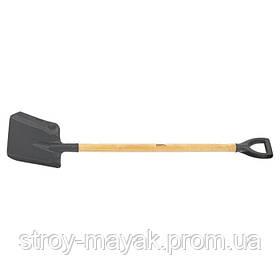 Лопата совковая с черенком и пластиковой рукояткой СИБРТЕХ