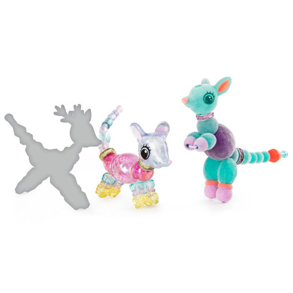Twisty Petz Набір браслети, намисто мишка, кенгуру і вихованець-сюрприз Three Pack Mouse, Kangaroo Surprise and