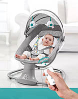 Детский укачивающий центр Mastela Deluxe Multi  автоматическая люлька шезлонг для новорожденых