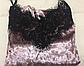 Шикарная велюровая пижама с кружевом, фото 3