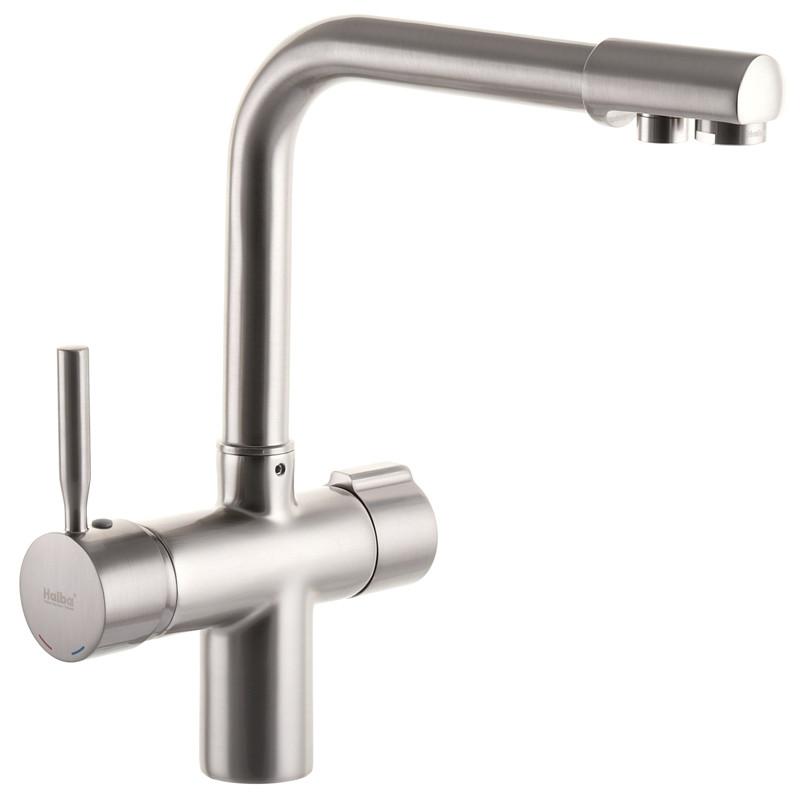 Смеситель для кухни Haiba HANS 021 с выходом для питьевой воды (HB0817)