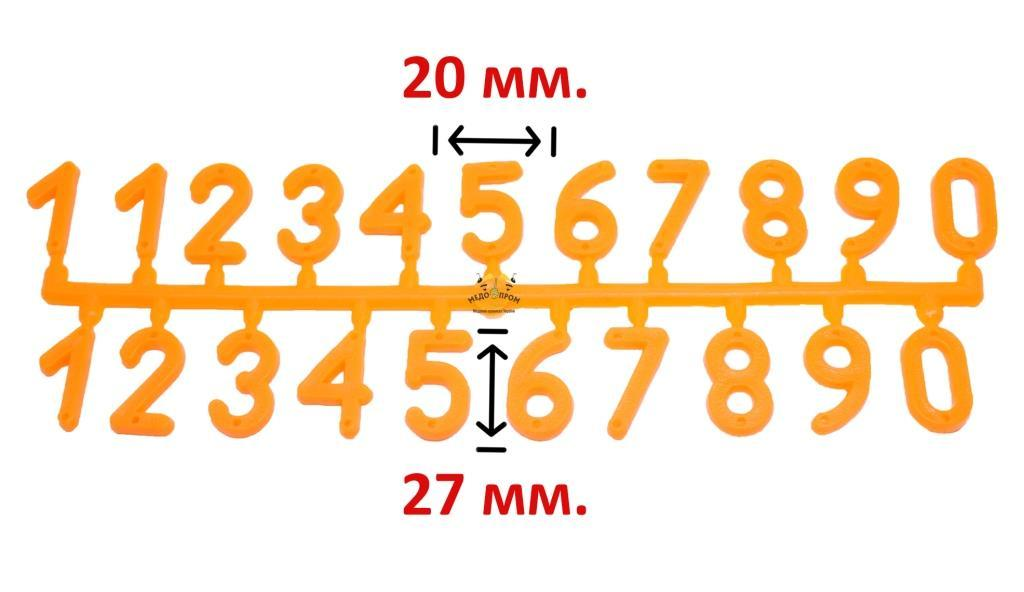 Набор цифр для улья (21-на цифра)
