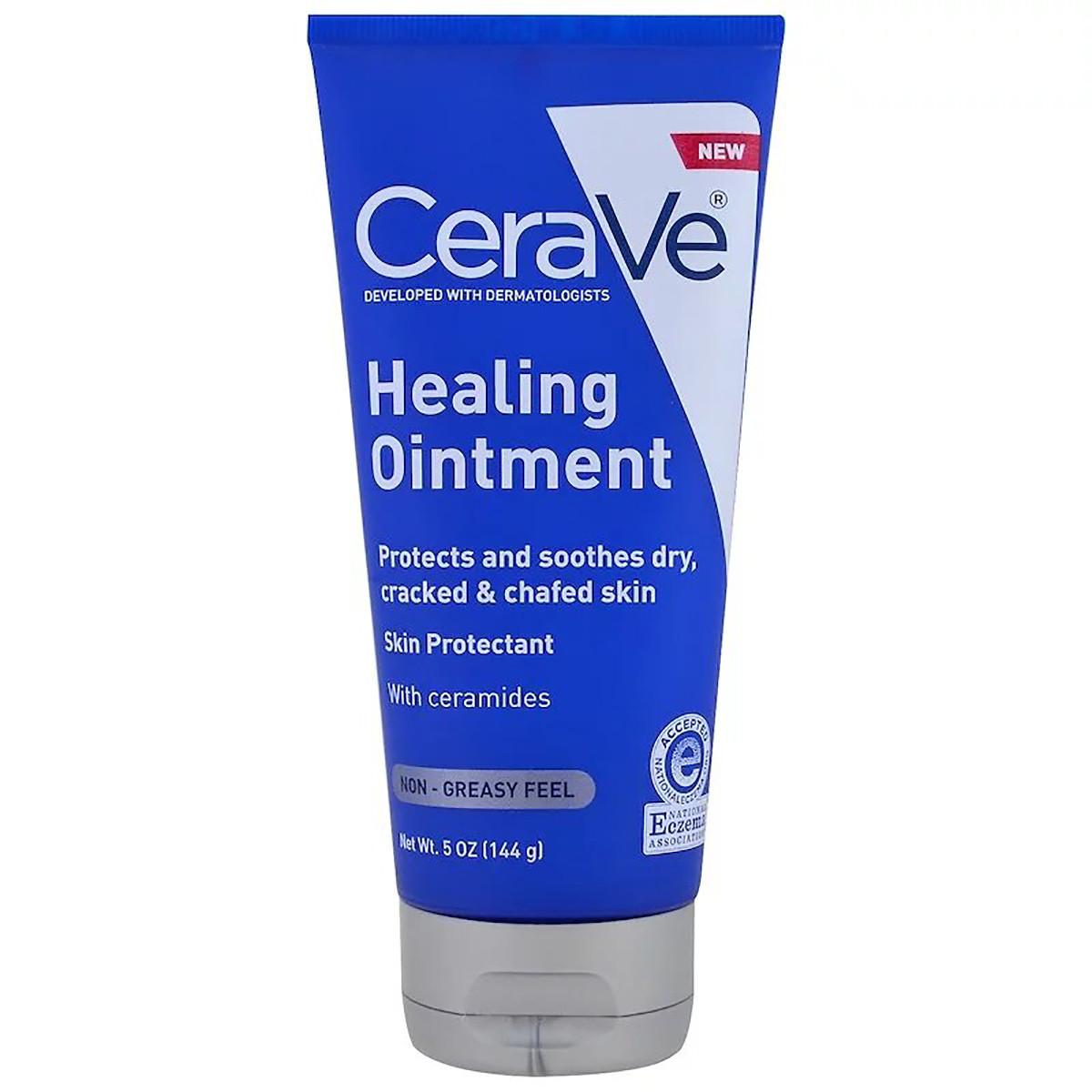 Целебная мазь для кожи, CeraVe, Healing Ointment, 144 г (5 унций)