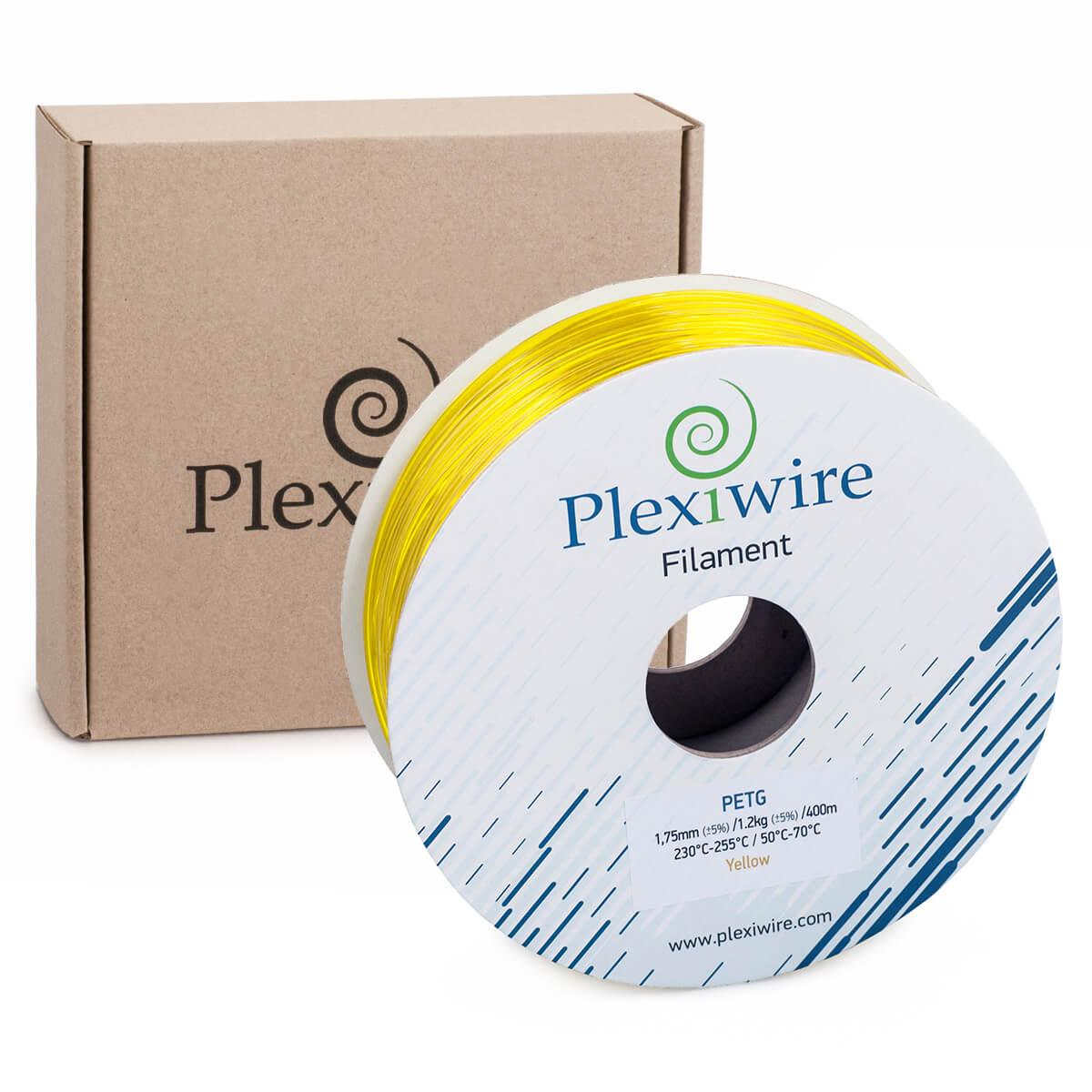 PETG пластик для 3D принтера Жовтий 1,75 мм (400 м / 1.2 кг)