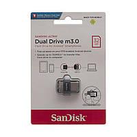 USB OTG SanDisk Ultra Dual Drive M3.0 32Gb (150 Mb/s) USB 3.0