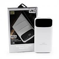 Power Bank Мобильная зарядка Внешний Аккумулятор для телефона UKC Z 081 800000mAh (реальная ёмкость 9600mAh)