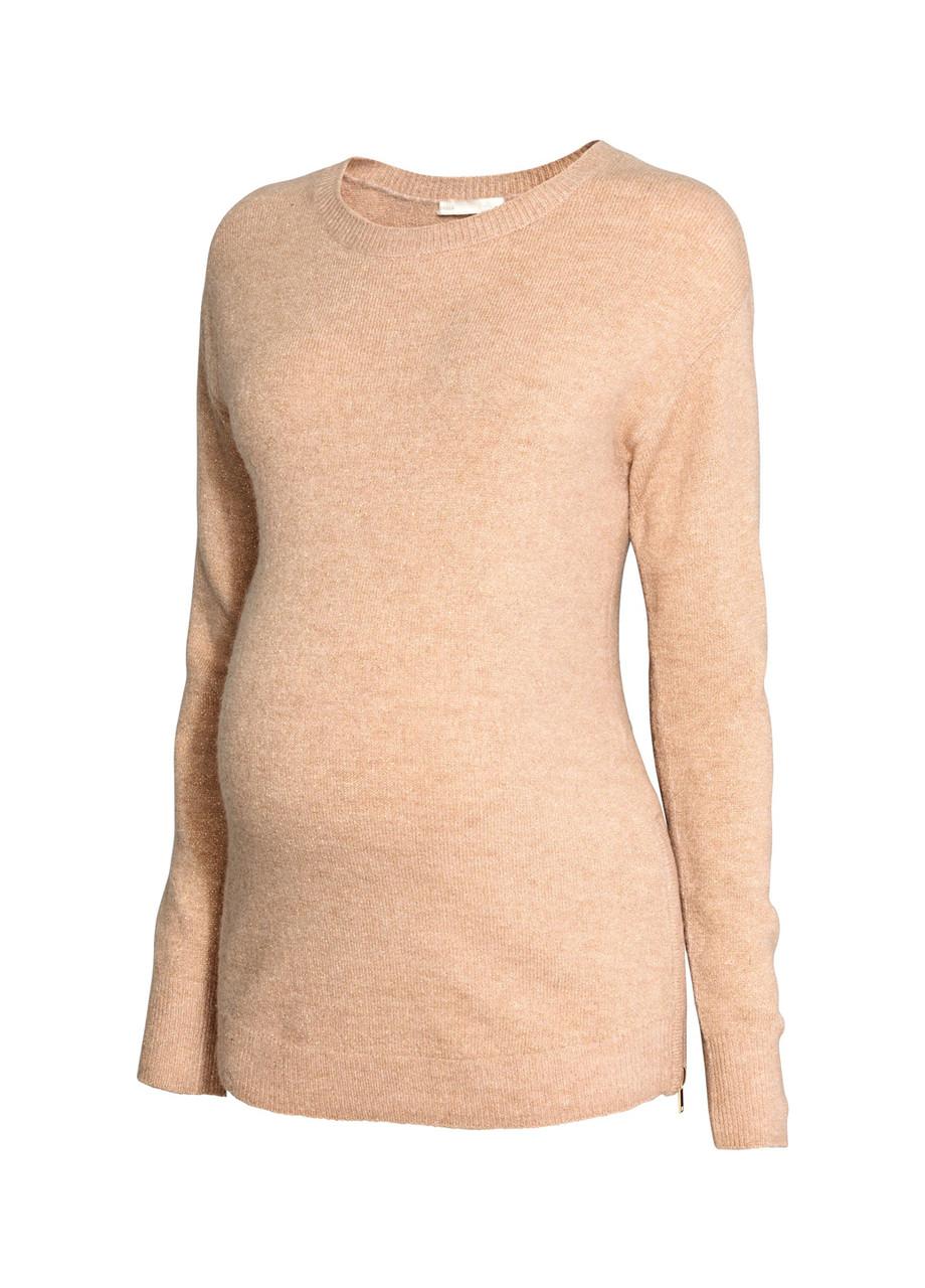 Женский джемпер для беременных H&M M(170/96) песочный