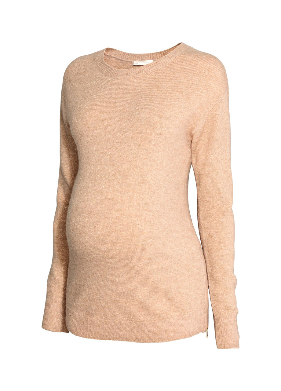 Женский джемпер для беременных H&M L(175/104) песочный