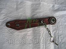 80-4605045 Тяга левая удлинитель навески трактора МТЗ (поковка)