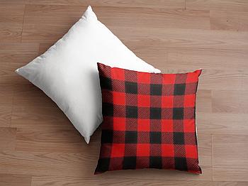 Декоративная подушка для сублимации с новогодним принтом 35х35см.NP002