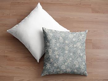 Декоративная подушка для сублимации с новогодним принтом 35х35см.NP003