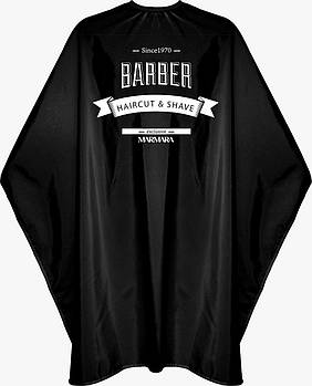 Накидка парикмахерская Marmara Barber Cape Black Barber