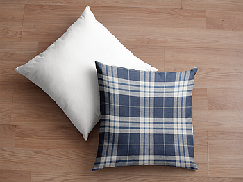Декоративная подушка для сублимации с новогодним принтом 35х35см.NP008