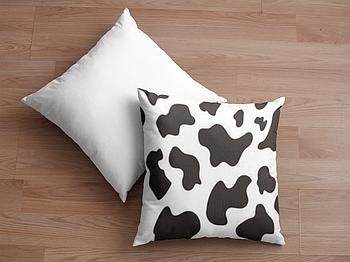 Декоративная подушка для сублимации с новогодним принтом 35х35см.NP009
