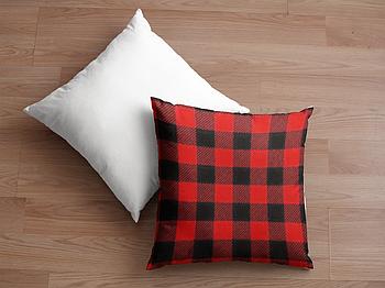 Декоративная подушка для сублимации с новогодним принтом 35х35см.NP010