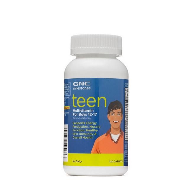 Вітаміни для підлітків GNC Teen Multi 120 кап Boys