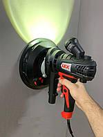 Шлифмашина для стен и потолка LEX LXDWS15 | 1500W+ подсветка и система пылеудаления, фото 1