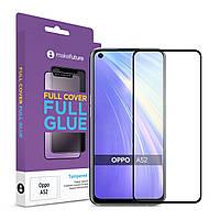Защитное стекло MakeFuture Full Cover Full Glue Oppo A52 Black (MGF-OPA52)