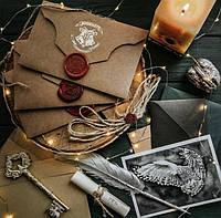 Письмо приглашение в Хогвартс (школу магии и волшебства ) гарри поттер