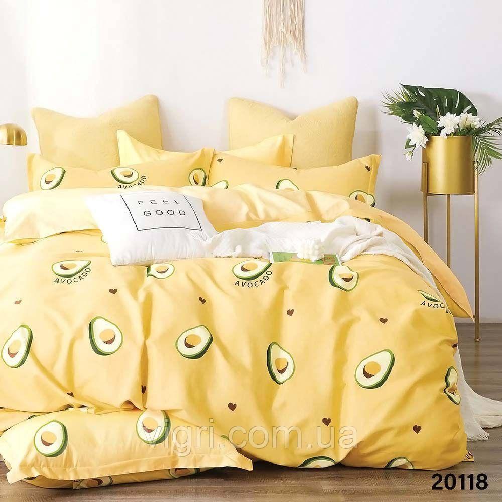 Постельное белье, двухспальное, ранфорс Вилюта «VILUTA» VР 20118