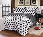 Полуторный  комплект постельного белья Сатин Люкс с компаньоном S465, фото 3